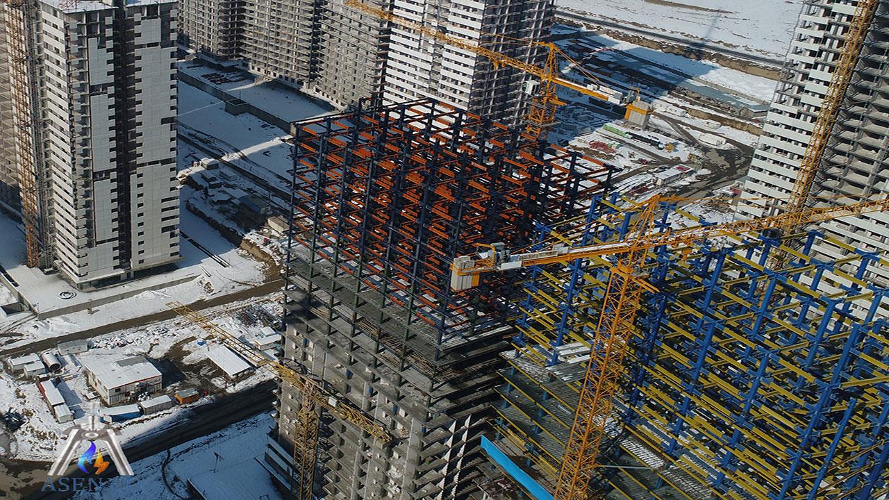 اسکلت فلزی در ساختمان سازی