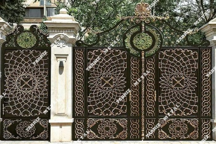 درب شمالی فرفورژه مناسب برای باغ ویلا ساختمان حیاط