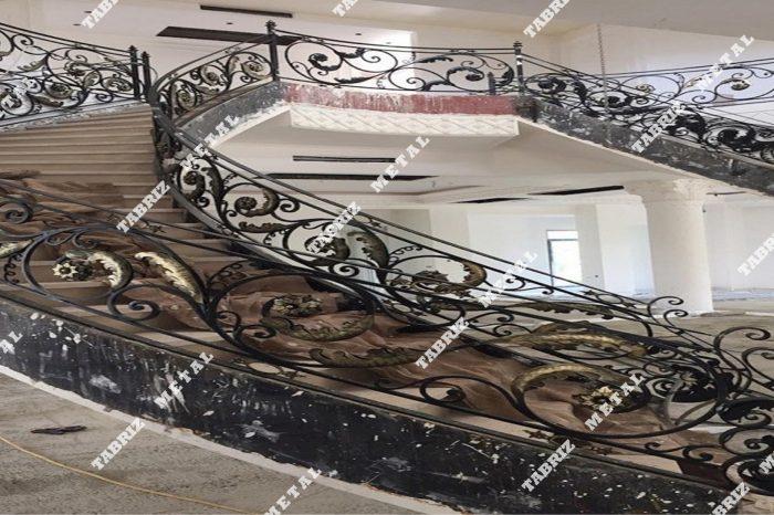 نرده دست ساز و پله دوبلکس